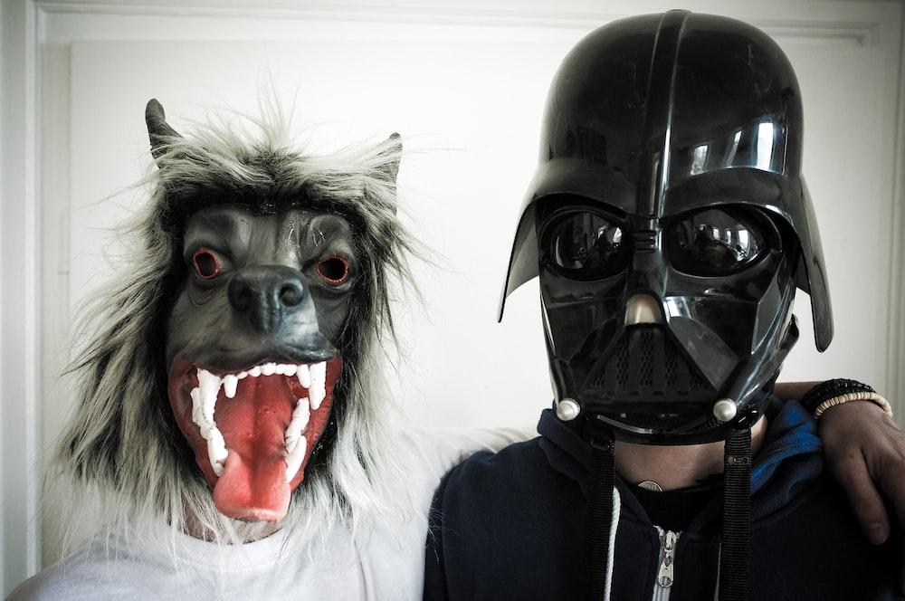 black dog mask