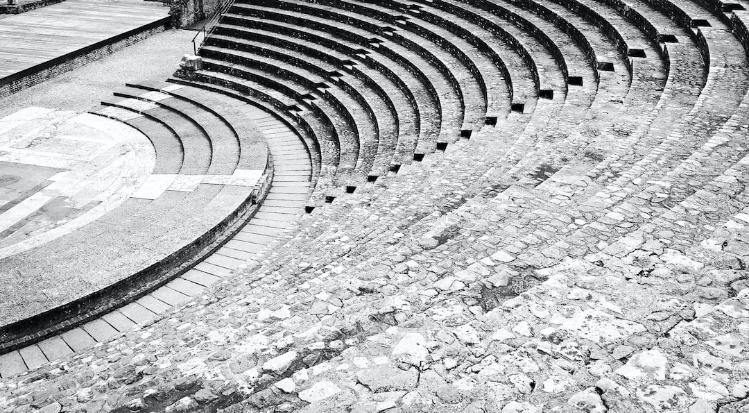 Amphithéâtre romain, vestiges de Lyon