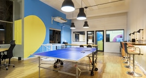 tennis table in room