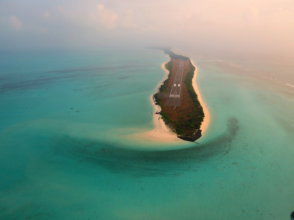 A click of Agatti Island in Lakshadweep