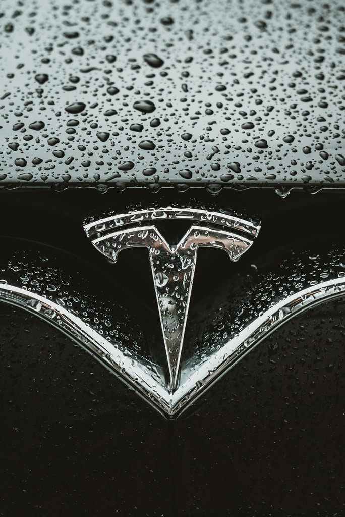 Tesla Logo synonymous of Electric