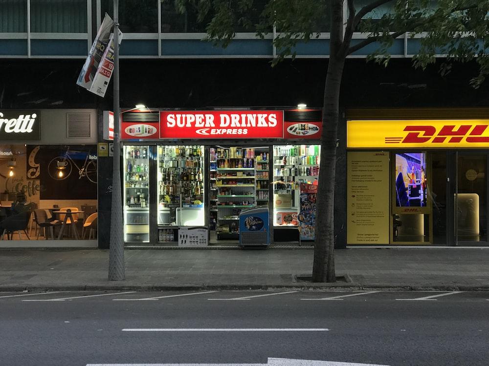 Super Drinks store