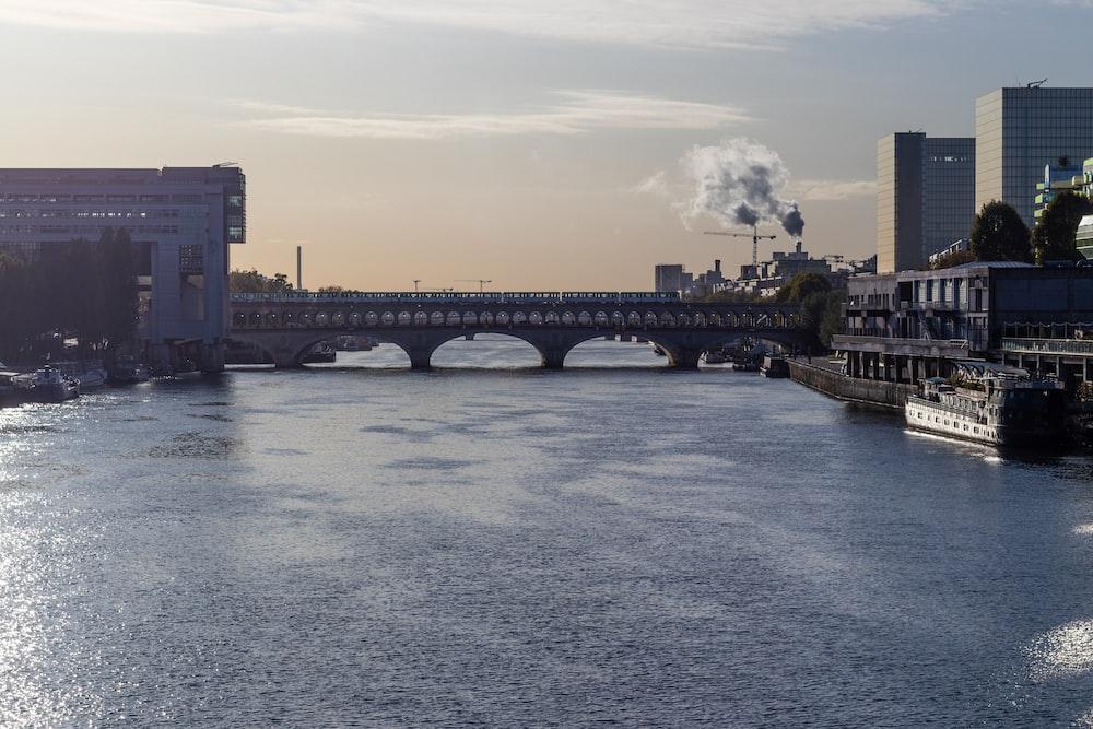 grey concrete bridge during daytime