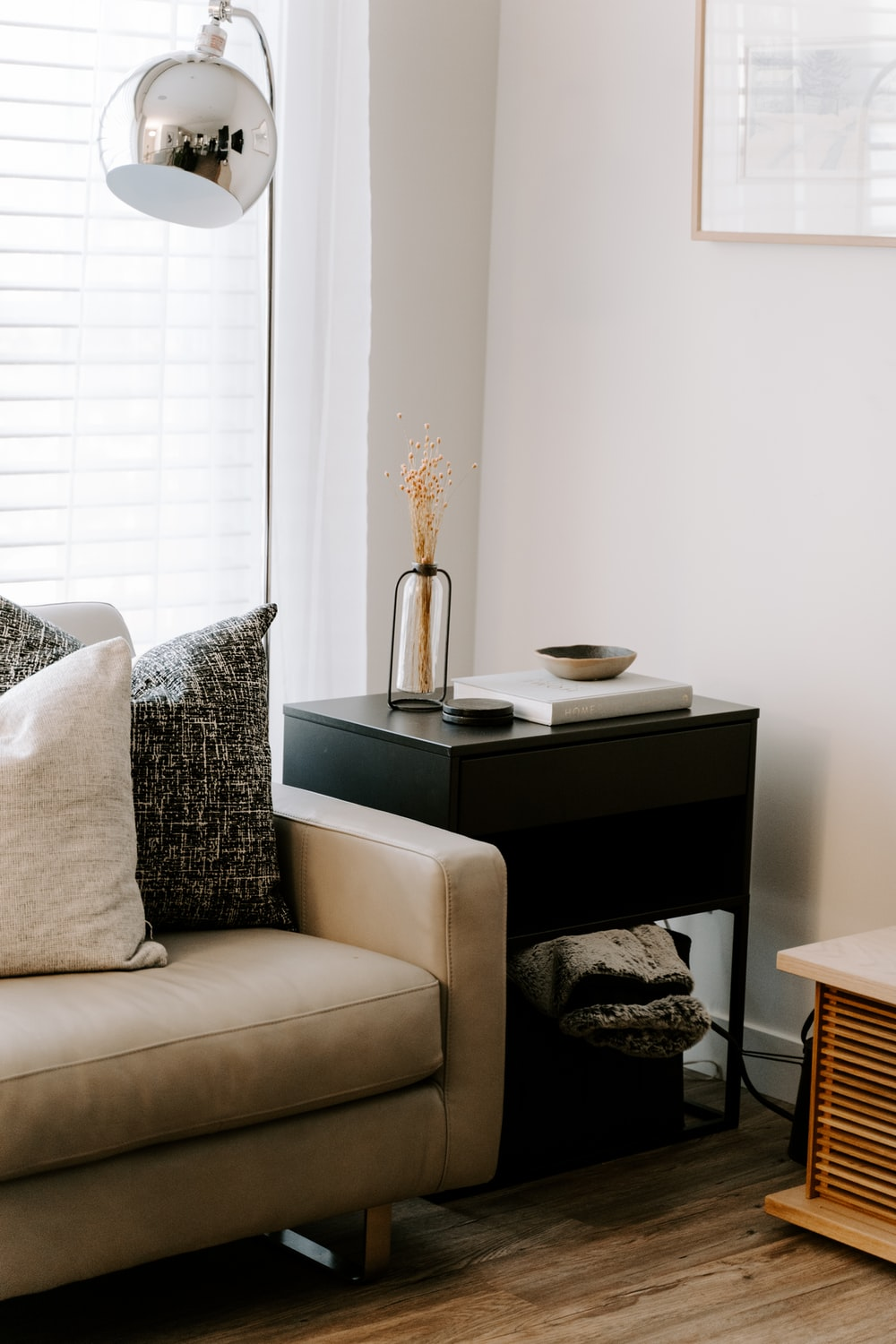 throw pillows on white couch