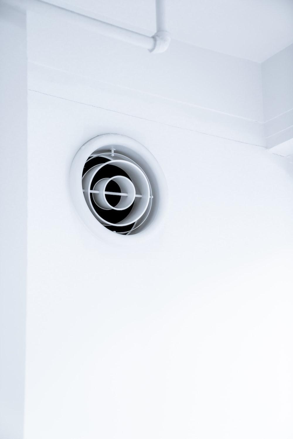 round white exhaust fan