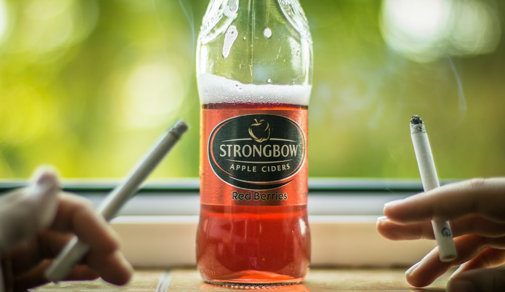 Strongbow bottle