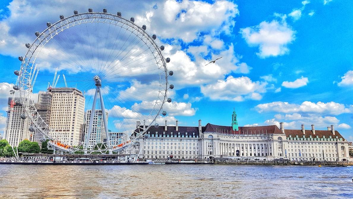 London eye -London in november