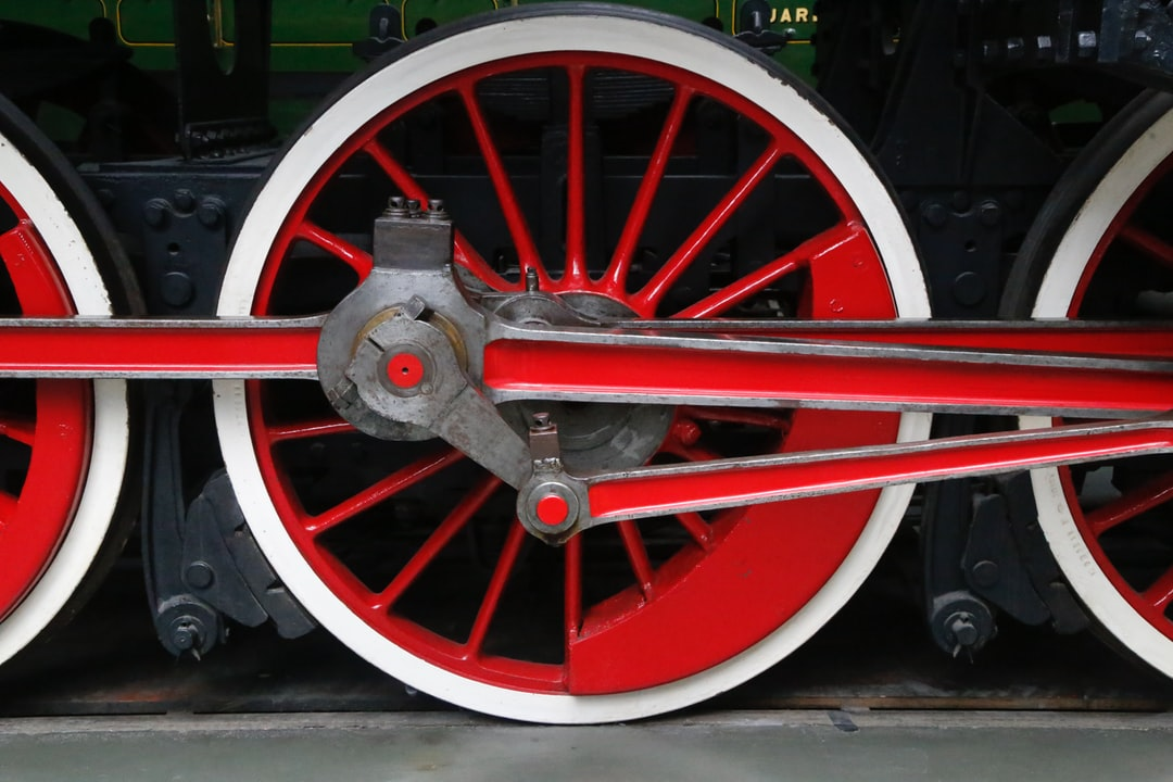 Steam loco in the National Railway Museum York