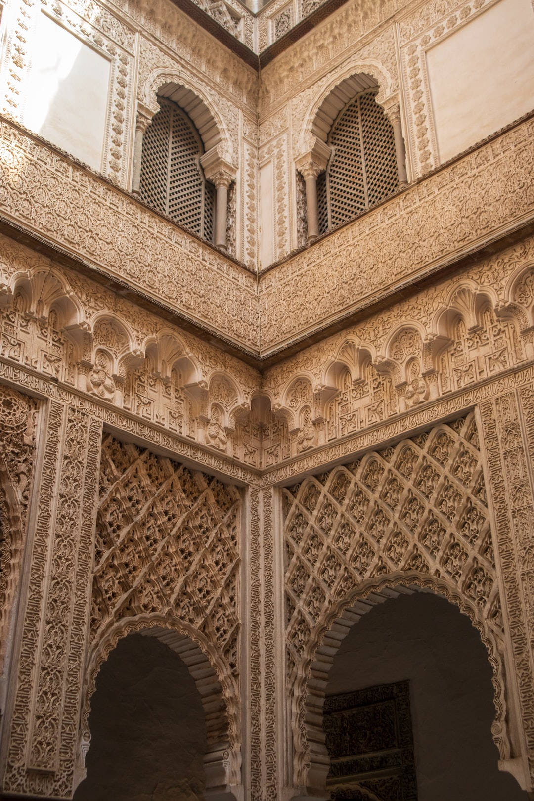 Amazing Moorish style architecture from the 15th century.