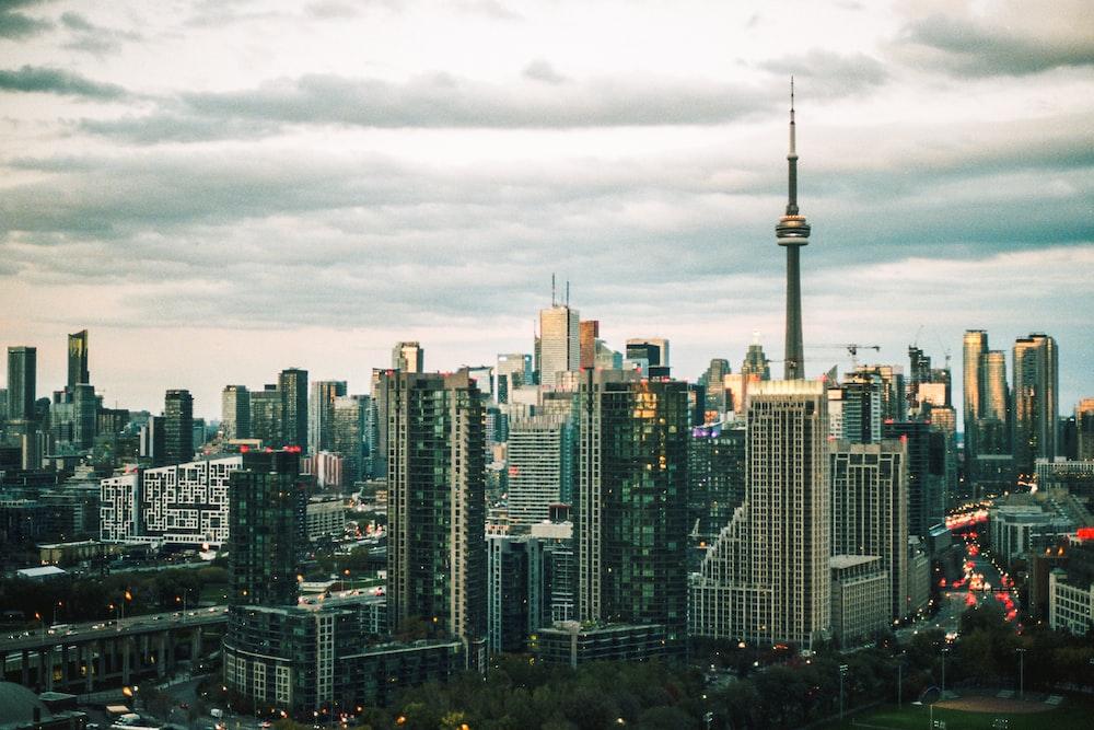 landscape photography high-rise building