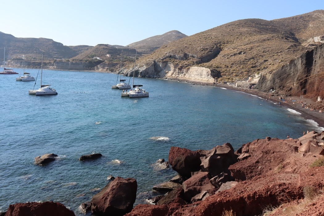 Red Beach, Best Places to Visit in Santorini
