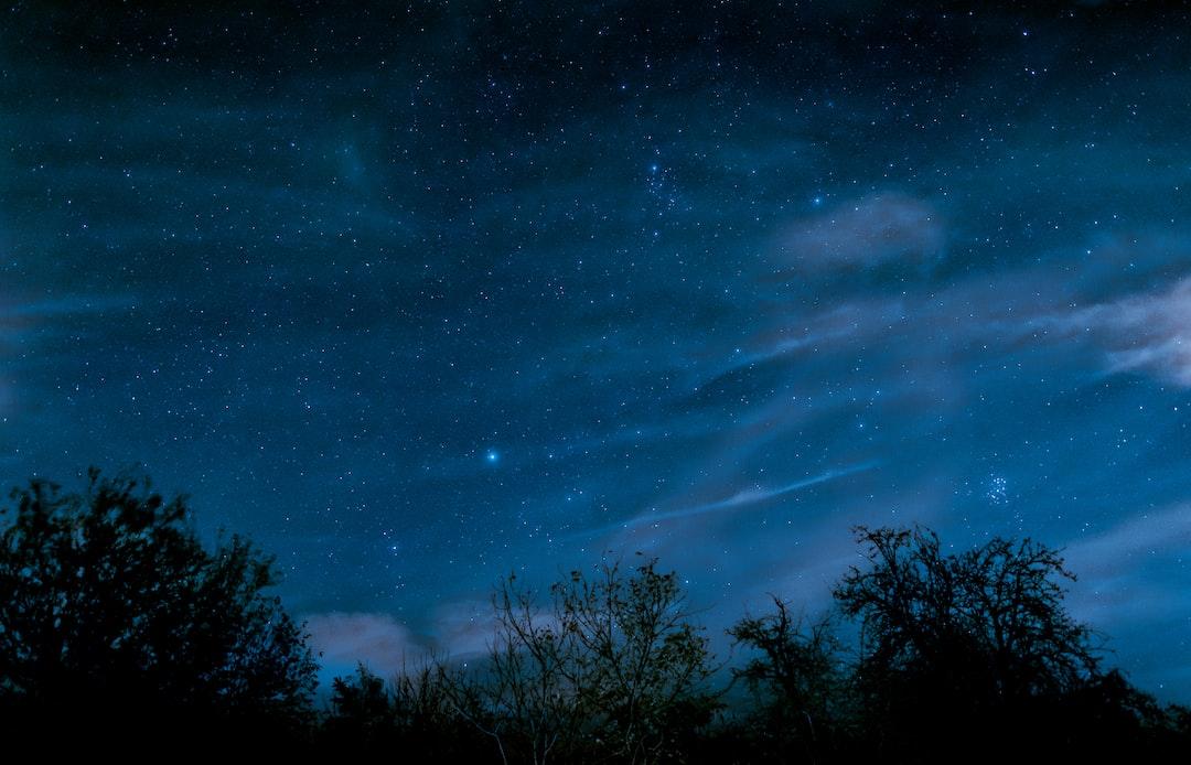 Nightsky with Pleiades