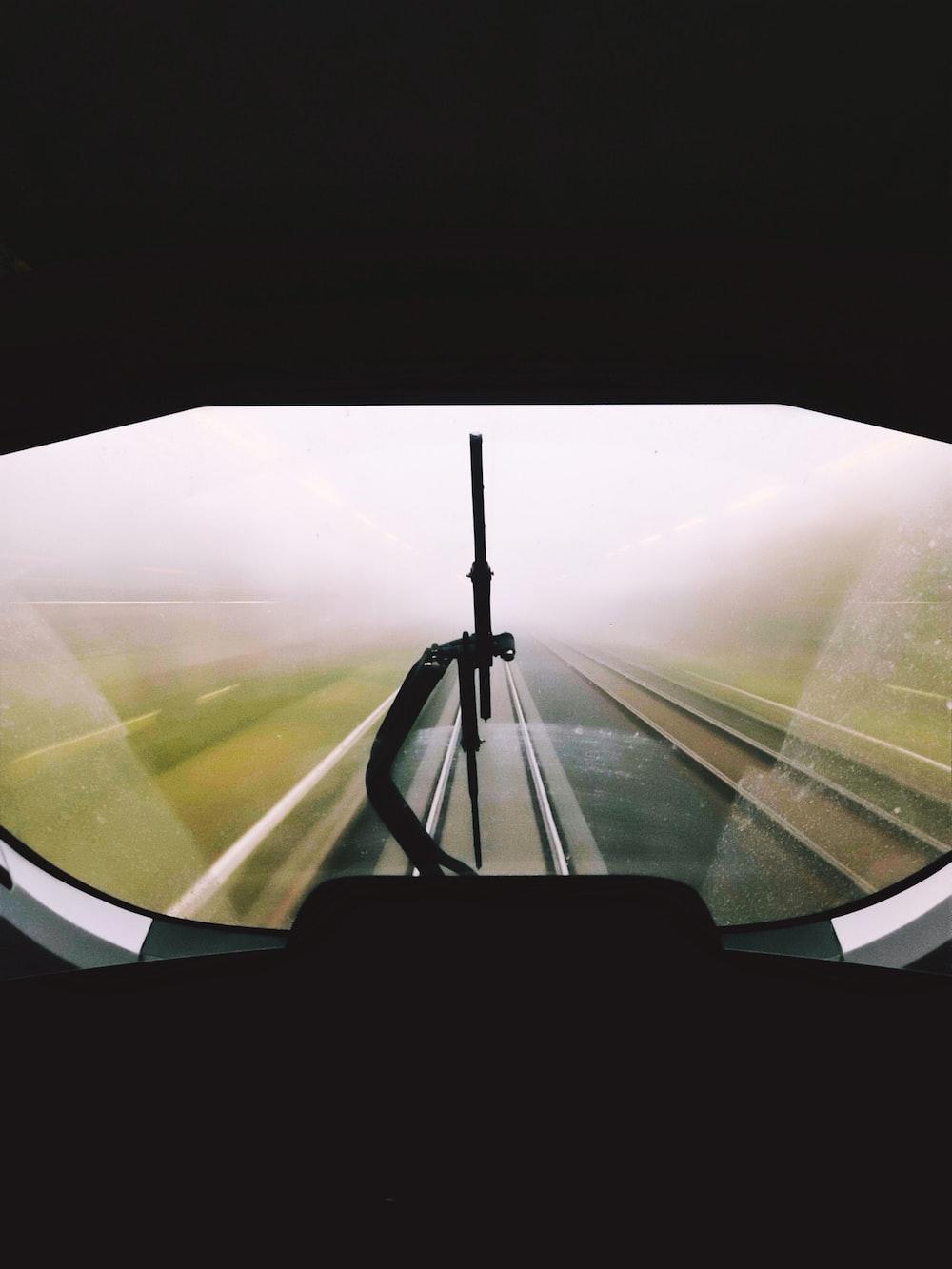 white-paned window