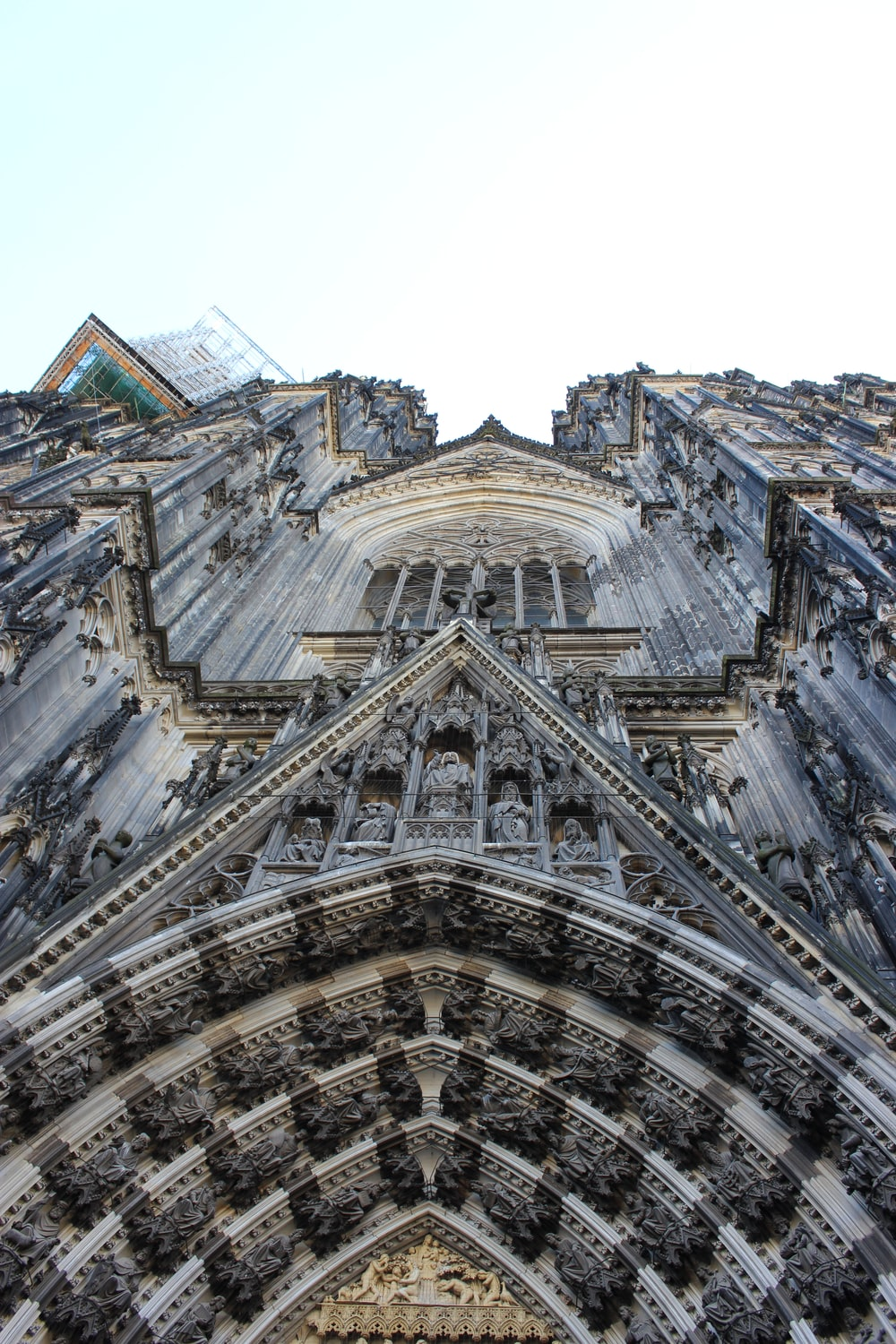 gray stone cathedral