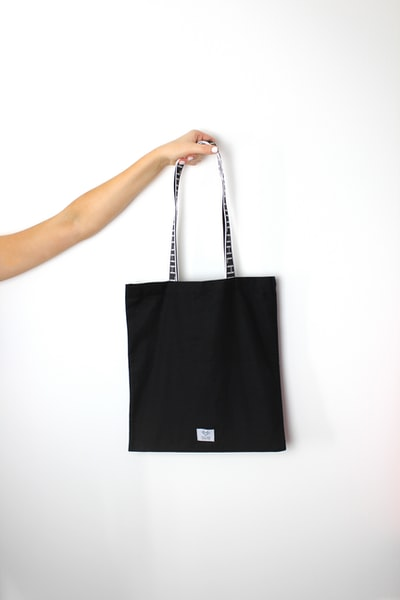 He's Her Lobster Black and White Fashion Accessory Standard Tote Bag