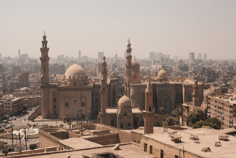 photo of beige temple