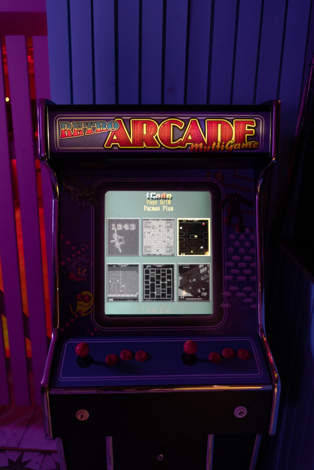 Retro Arcade cabinet