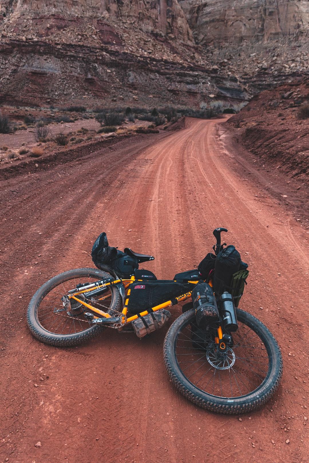 Bikepacking with the Surly Karate Monkey in the San Rafael Swell, Utah. - Patrick Hendry