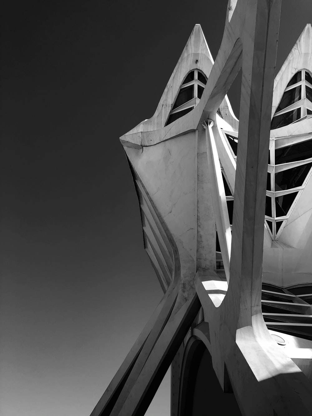 architectural photography of monument