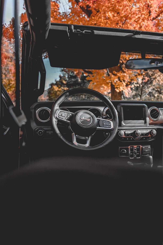Jeep vehicle interior