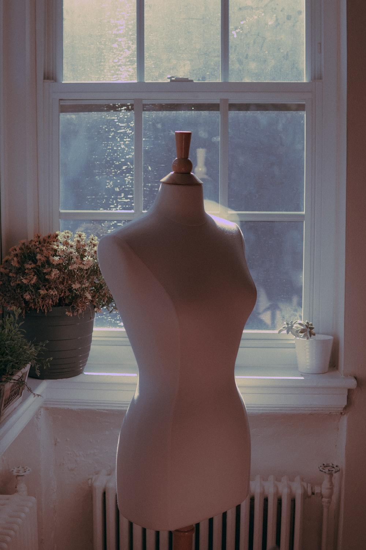 white body dress