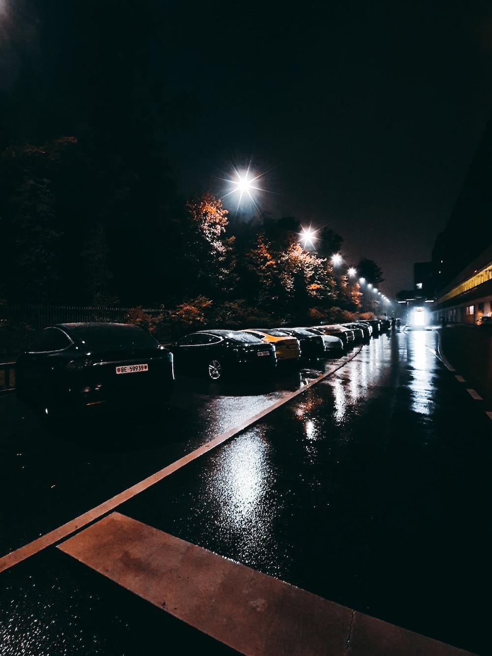 photo of car parking lot