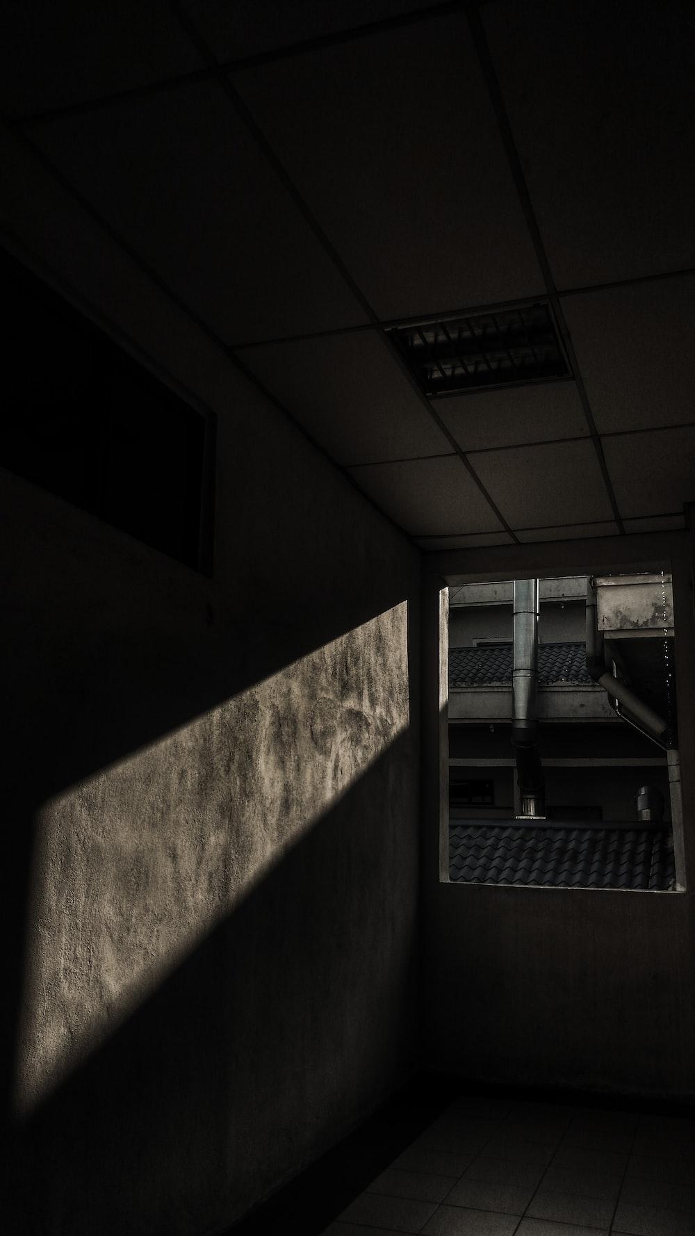 view of empty hallway