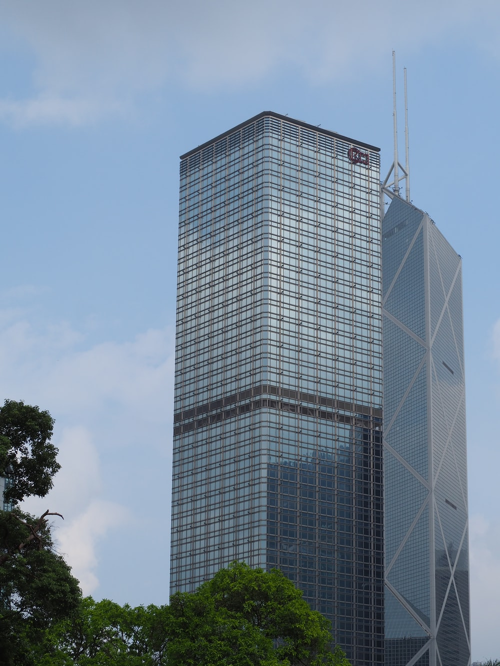 architectural photography of city building