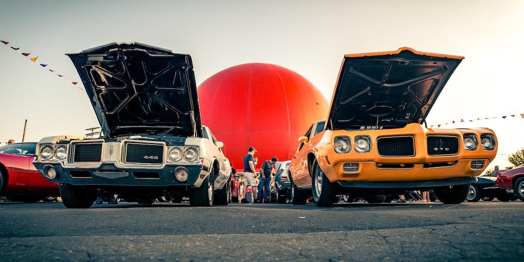 Vintage american cars at the Orange Julep Cruise Nights