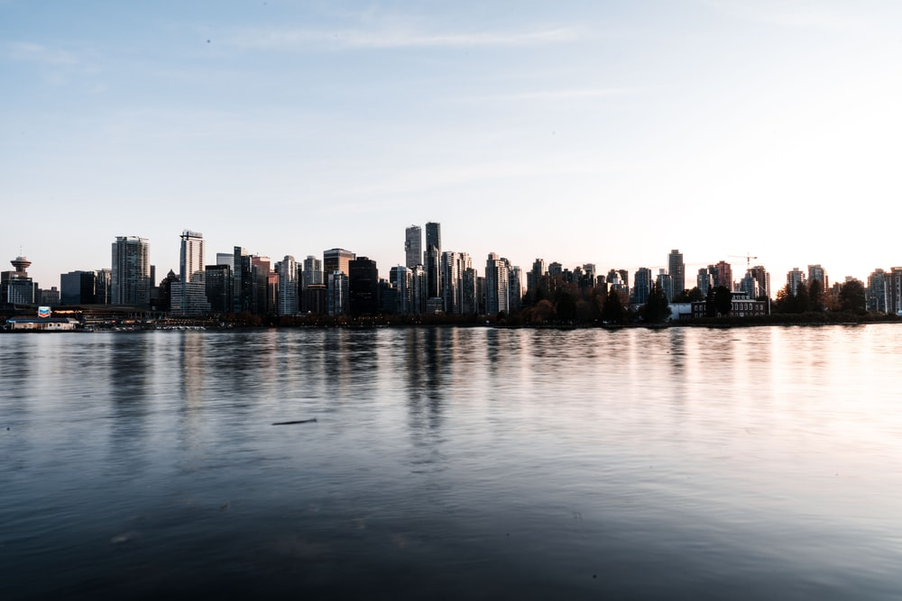 cityscapes near body of water