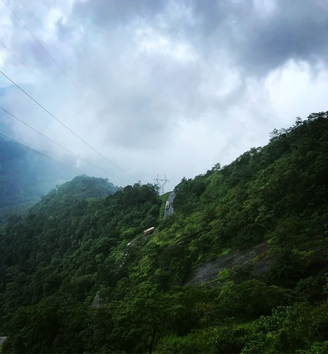 Hill Top View in Wayanad