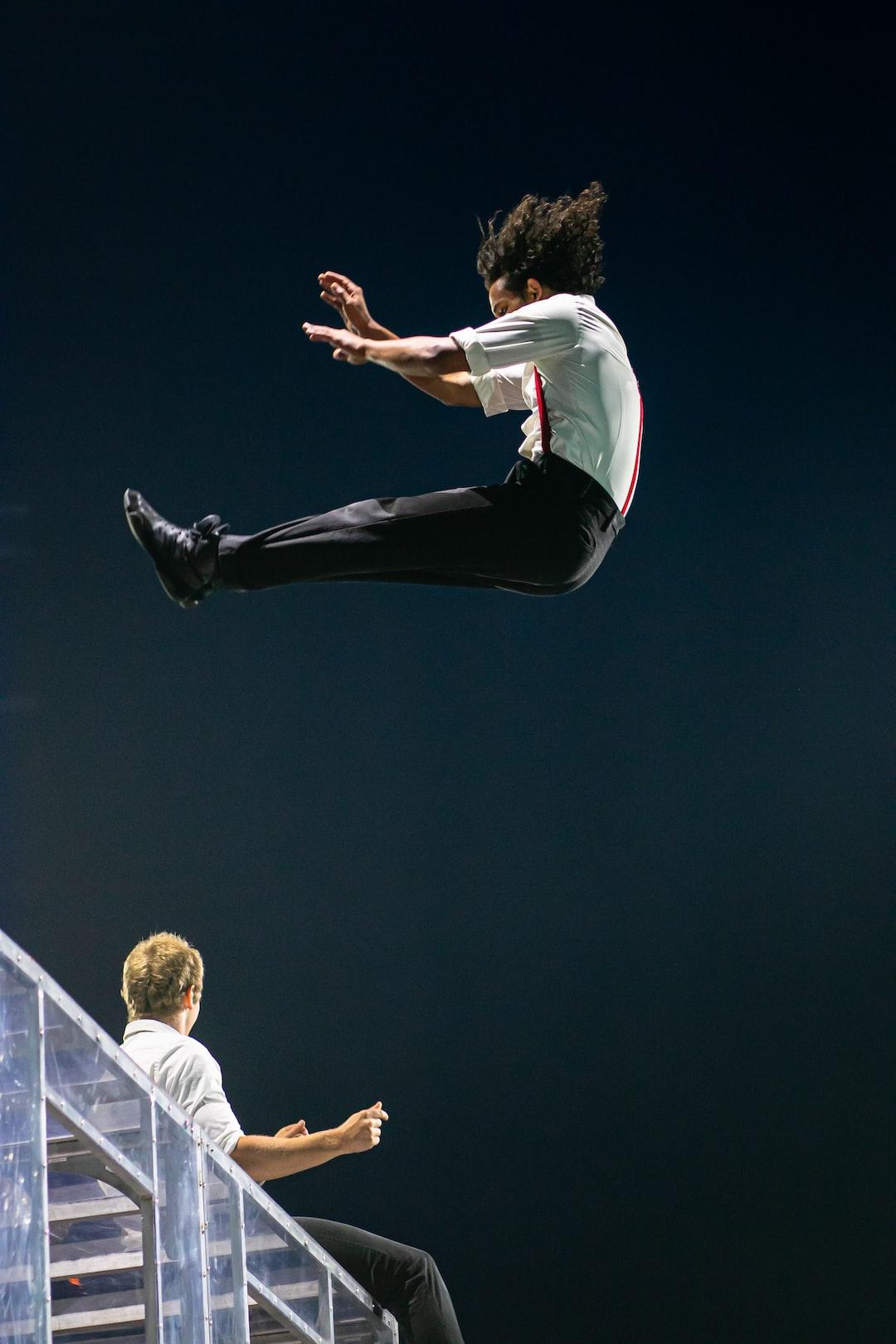 High octane acrobats