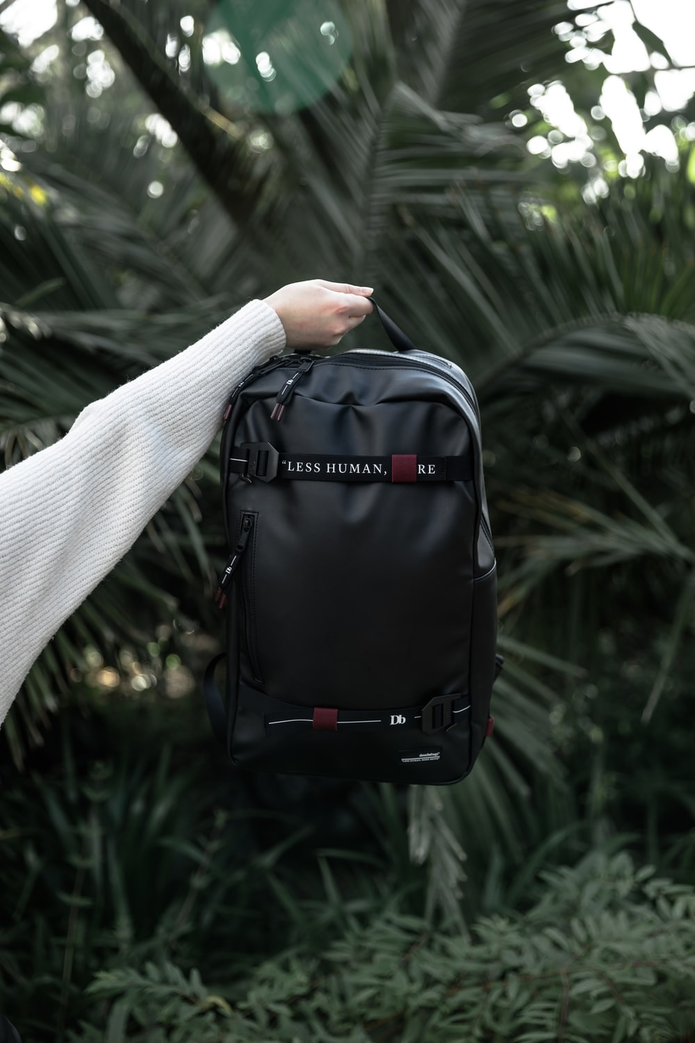 Uses Products Of Leather Backpack