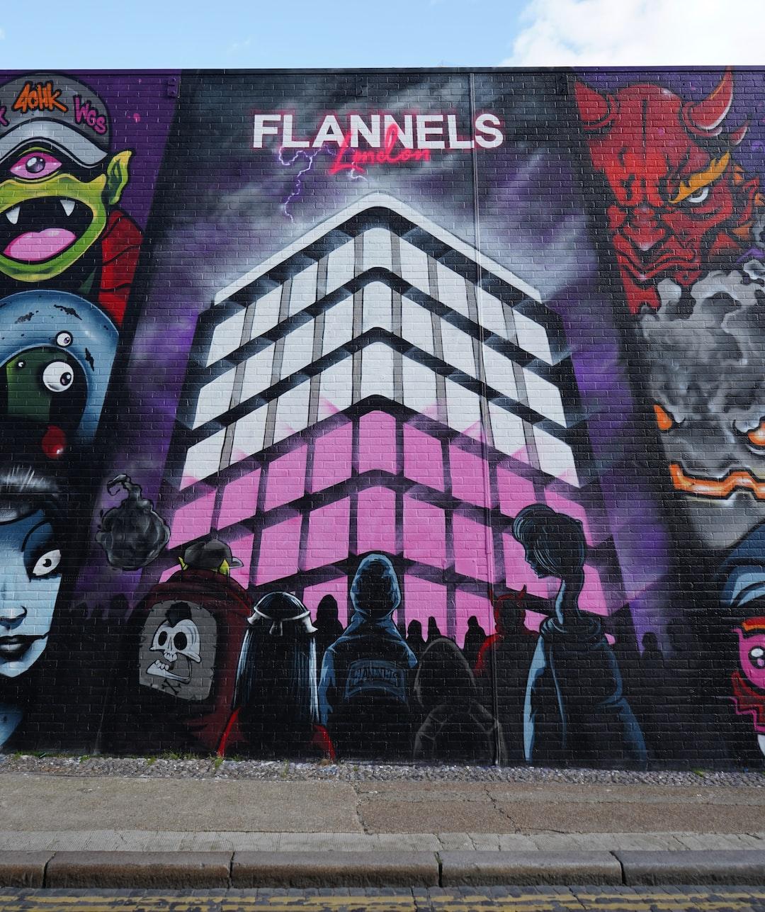 Graffiti Street Art London, UK