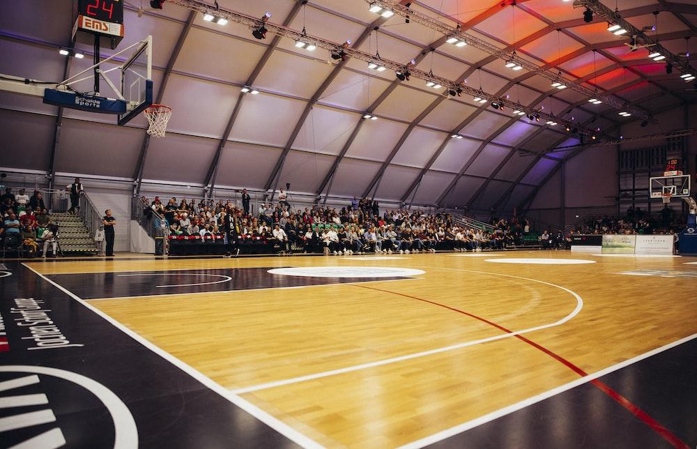 people inside a basketball gym