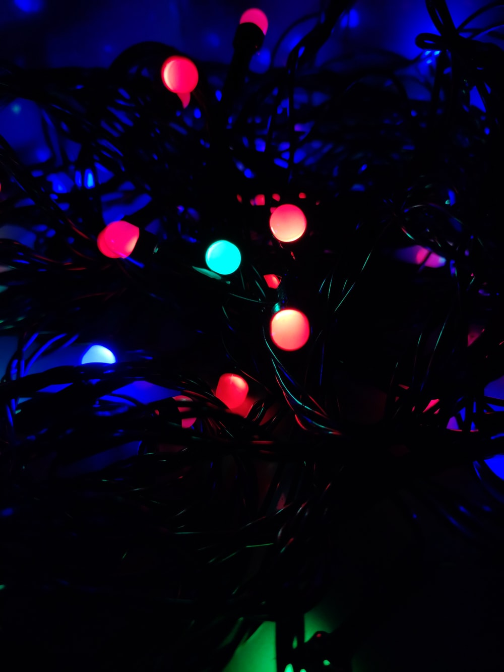 lighted string light