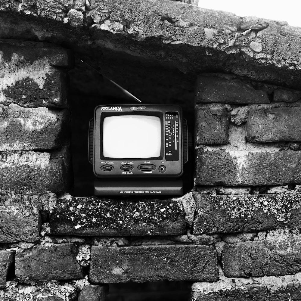 CRT television with radio