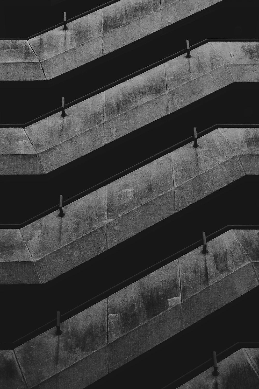 gray and black striped digital wallpaepr