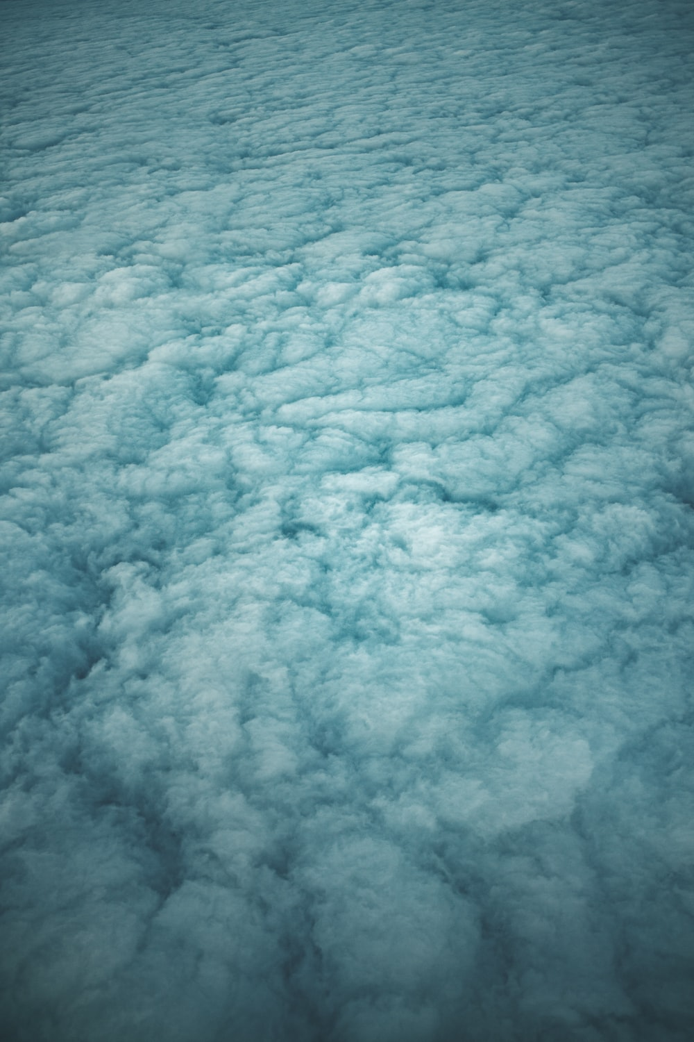 aerial photography of cloud formation