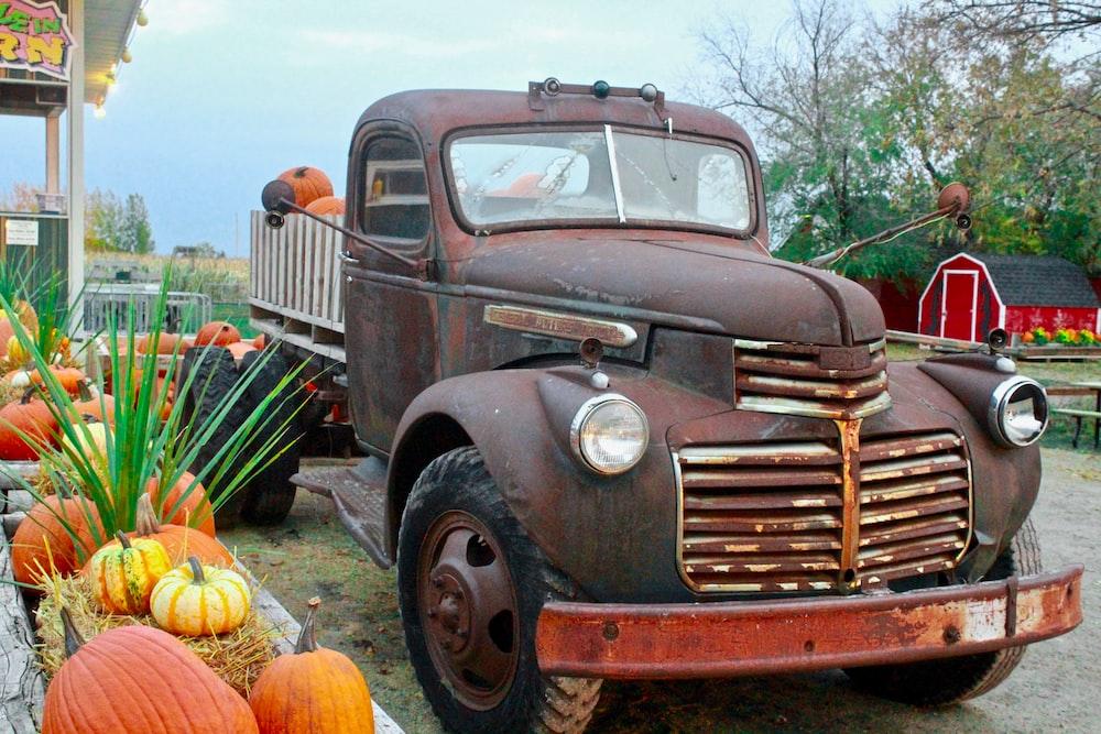photo of vintage vehicle