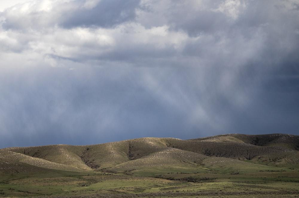 hills during daytime