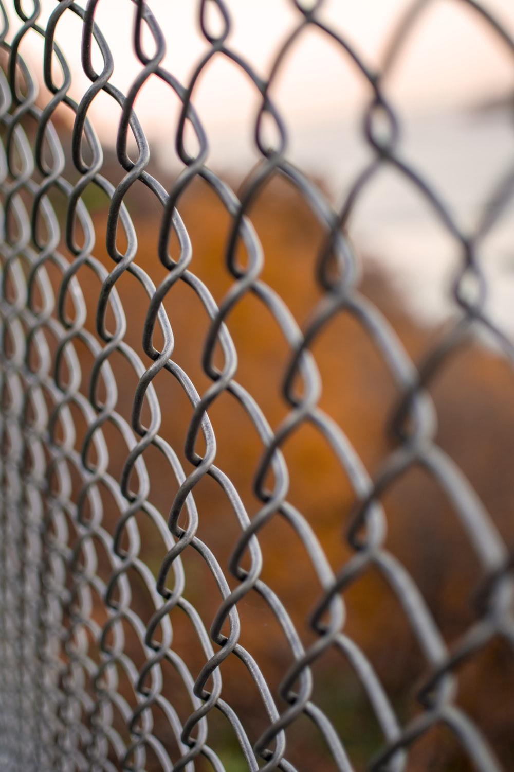 gray metal screen wire