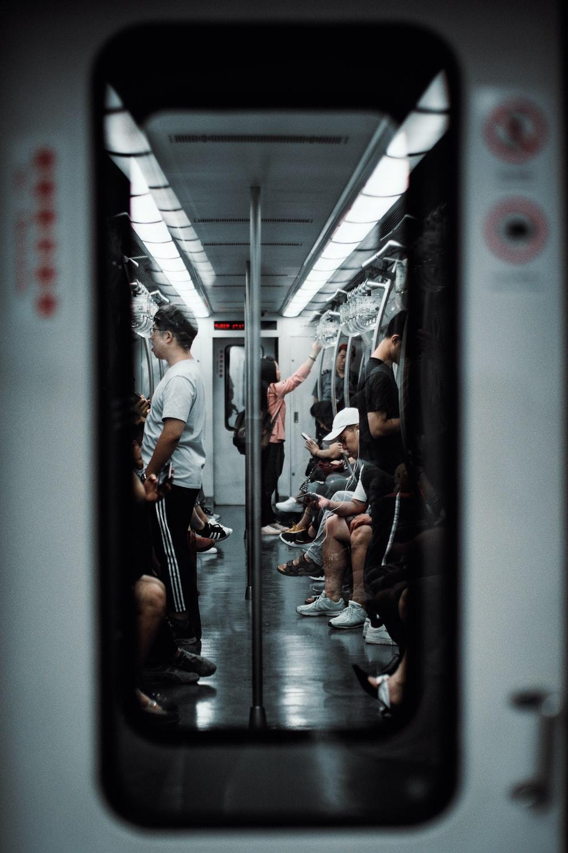people inside bus