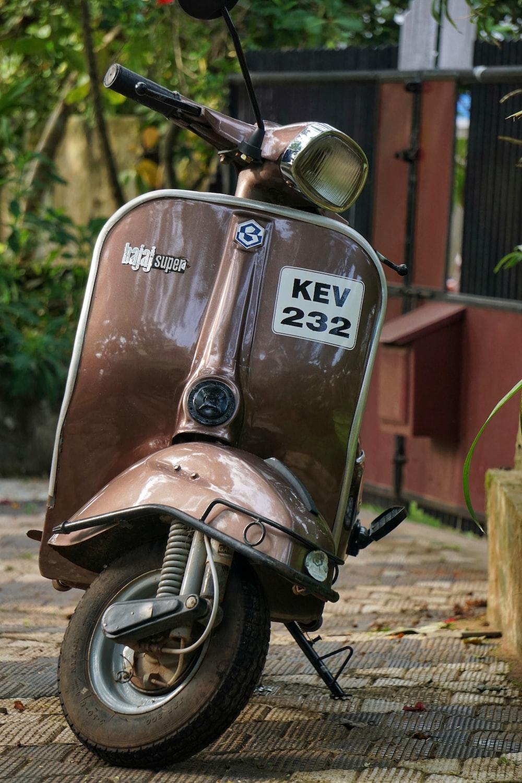 brow motor scooter