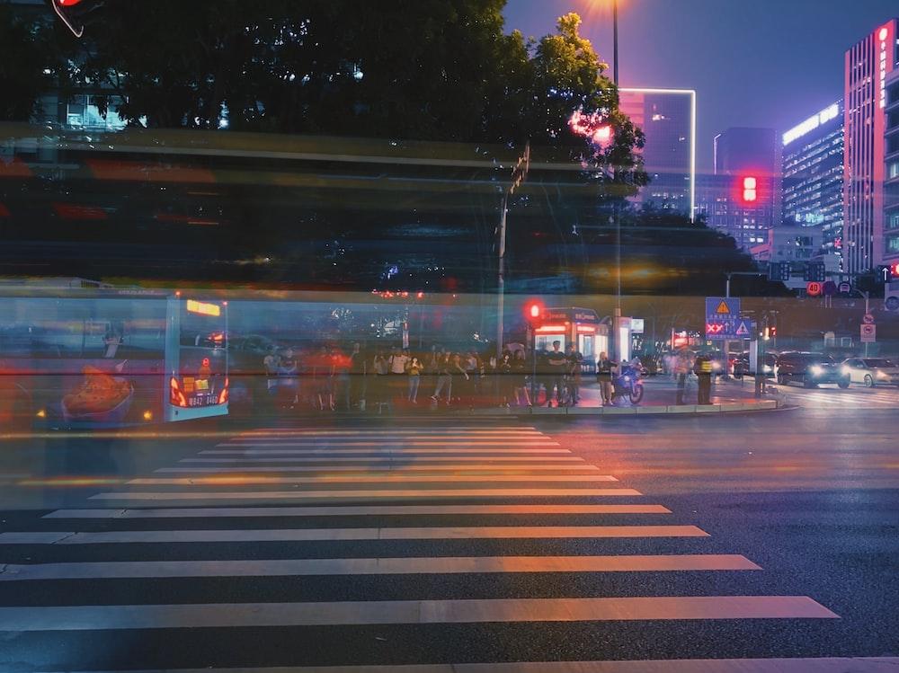 photo of pedestrian lane