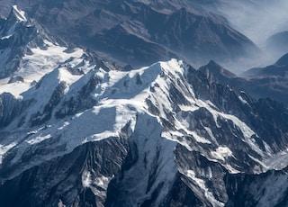 snow cover mountain photograph
