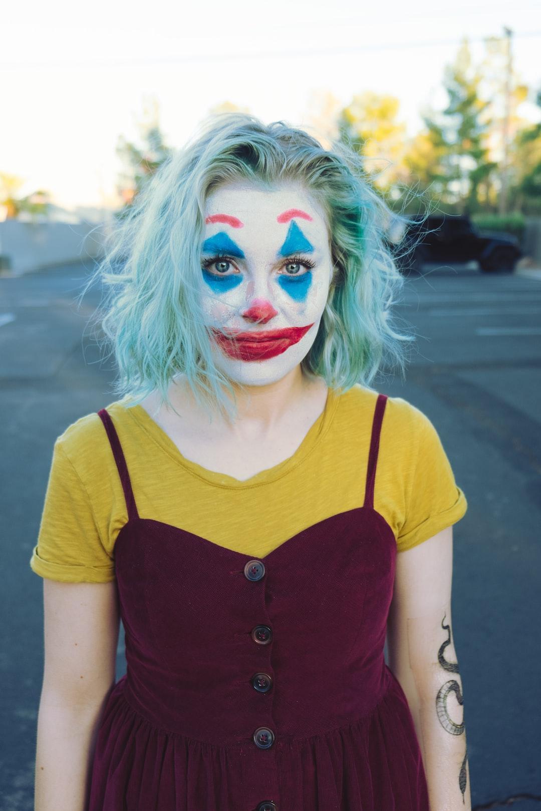 Just clowning around.