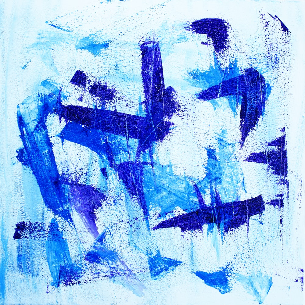 purple and blue abstract illustration