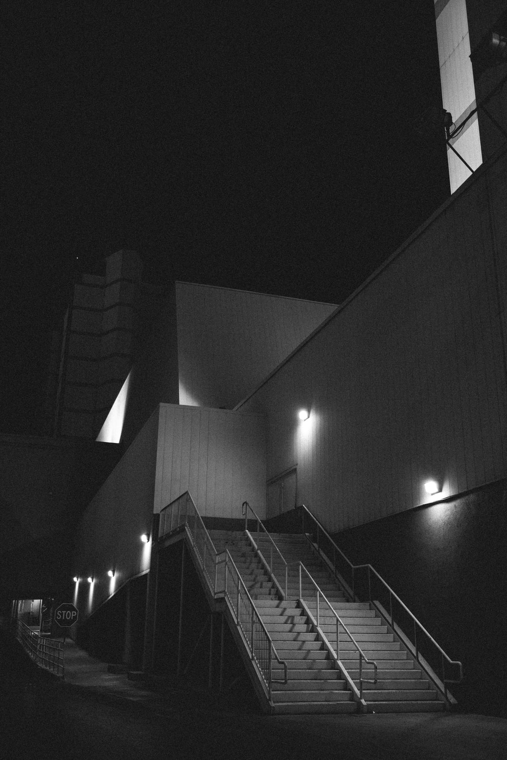 gray stair