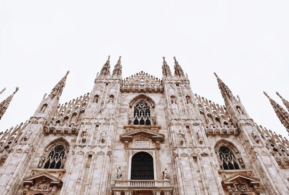 Milan cathedral during daytime